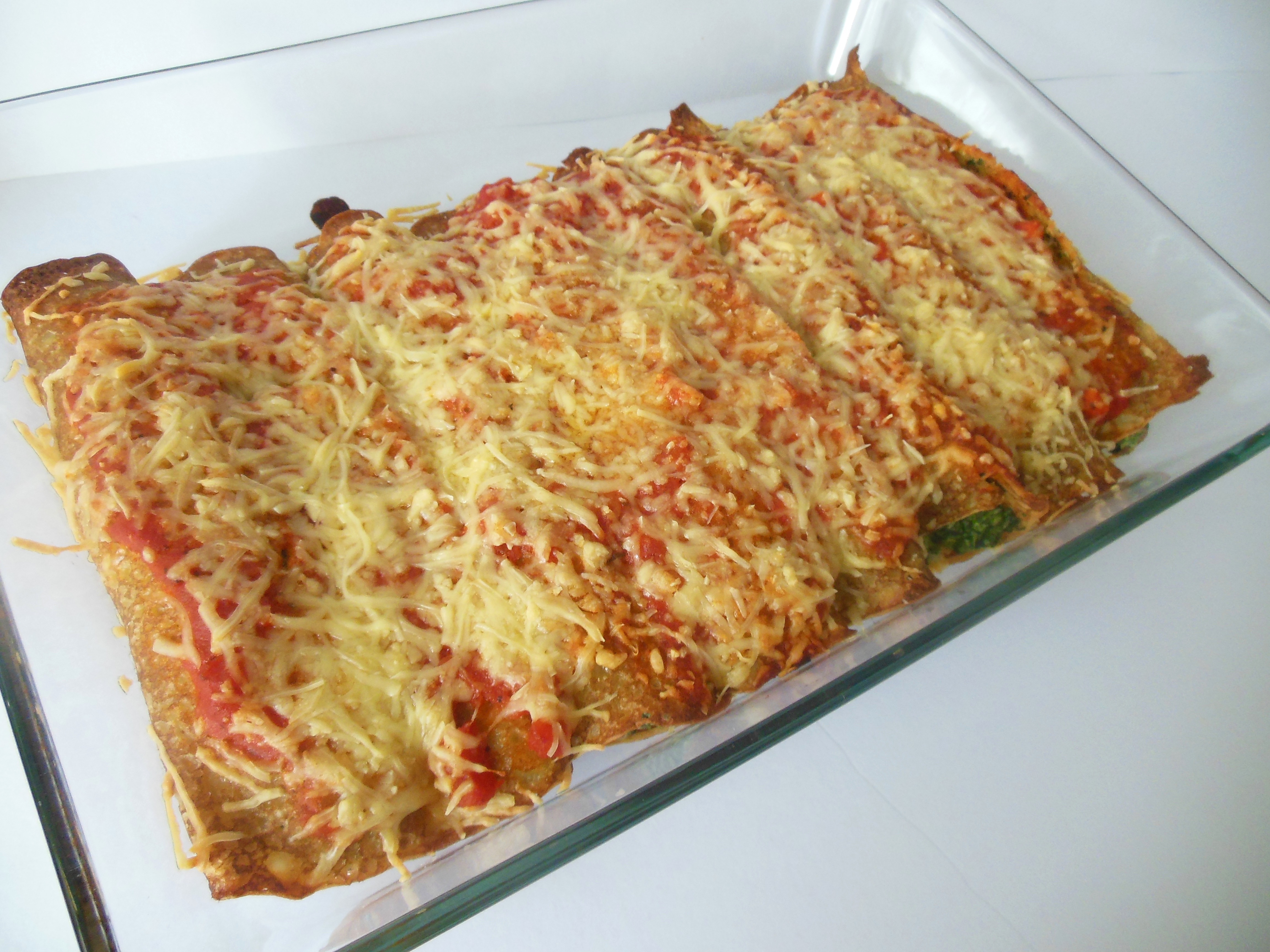Uitzonderlijk Gevulde hartige pannenkoeken uit de oven @DY71